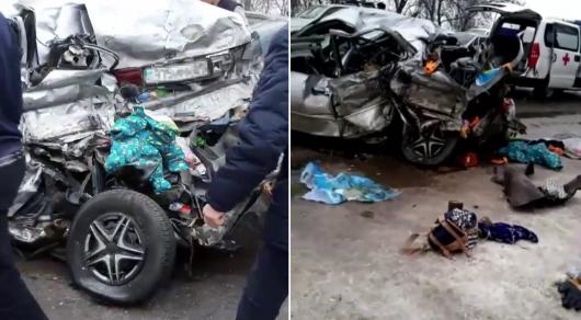 Алматы облысында жантүршігерлік жол апатынан 3 адам қаза тапты