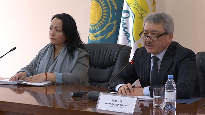 В Алматы акимы районов встретились с многодетными матерями