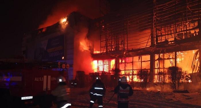 Highvill в огне: подробности крупного пожара в Астане