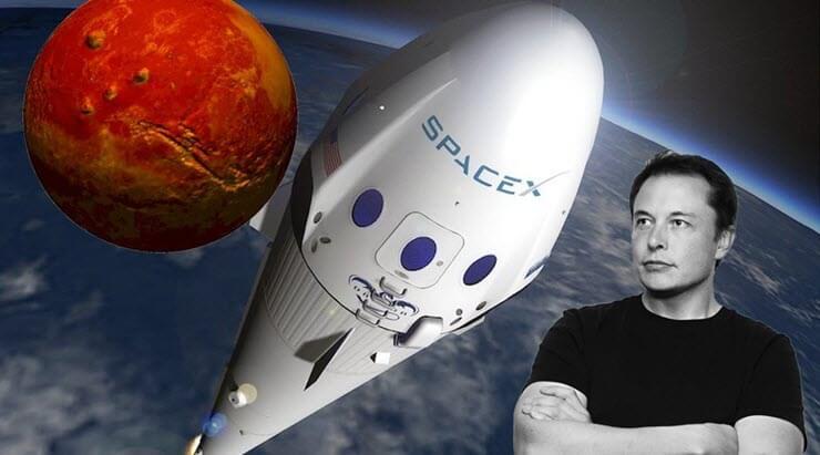 Маск пообещал билеты на Марс дешевле $100 тысяч