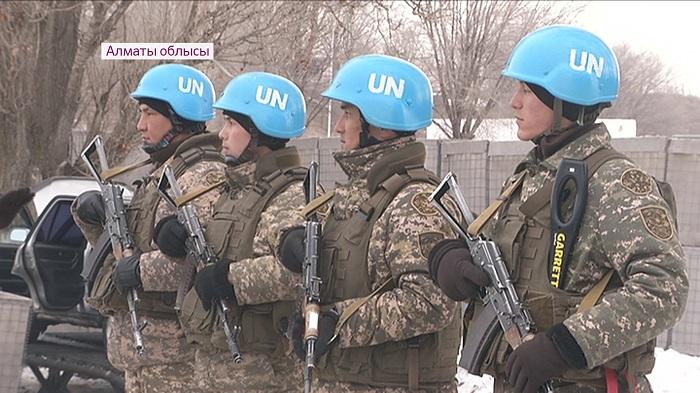 Подготовка казахстанских военных для отправки в Ливан – миротворческая миссия