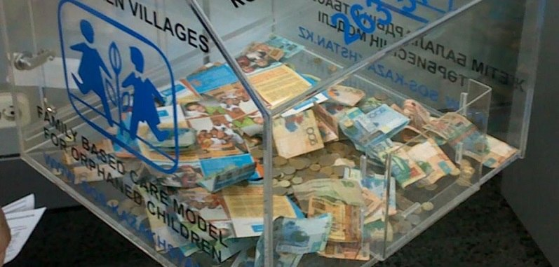 Продавец магазина украла бокс с пожертвованиями в Карагандинской области