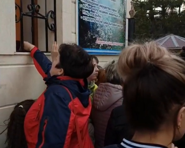 В дендропарке Шымкента не могут дать сдачу за билет