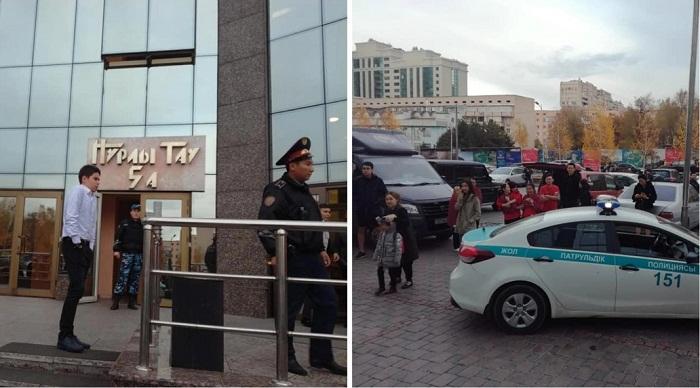 """Esentai Mall, """"Нурлы Тау"""" и кафе в Алматы проверяли на взрывные устройства"""