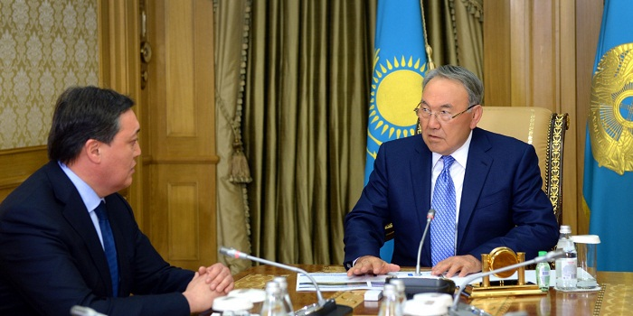 Назарбаев о назначении Мамина премьер-министром: Он имеет необходимый опыт