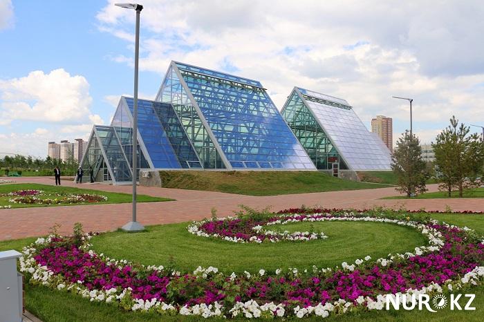 Европейскую экспозицию создадут в Ботаническом саду Астаны