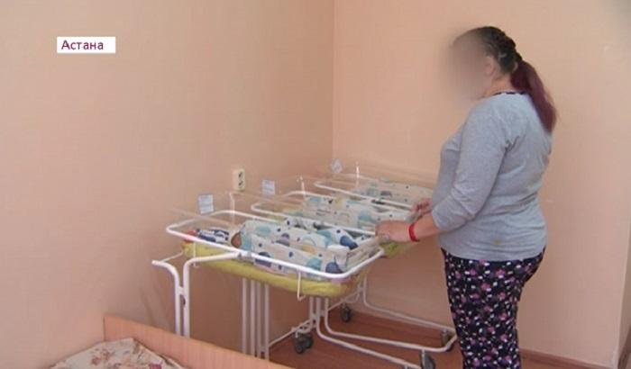 Тройню родила мама двойняшек в Астане