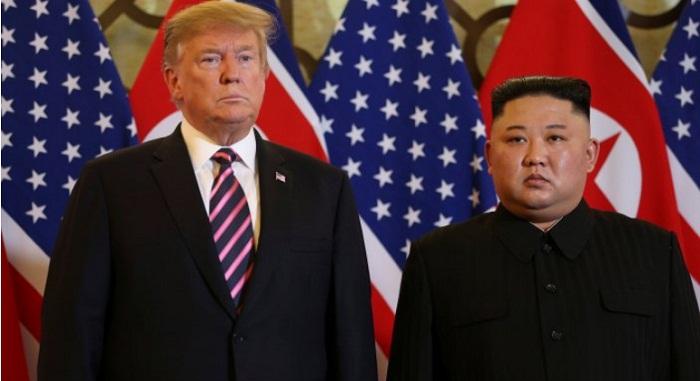 Встреча Дональда Трампа и Ким Чен Ына началась в Ханое