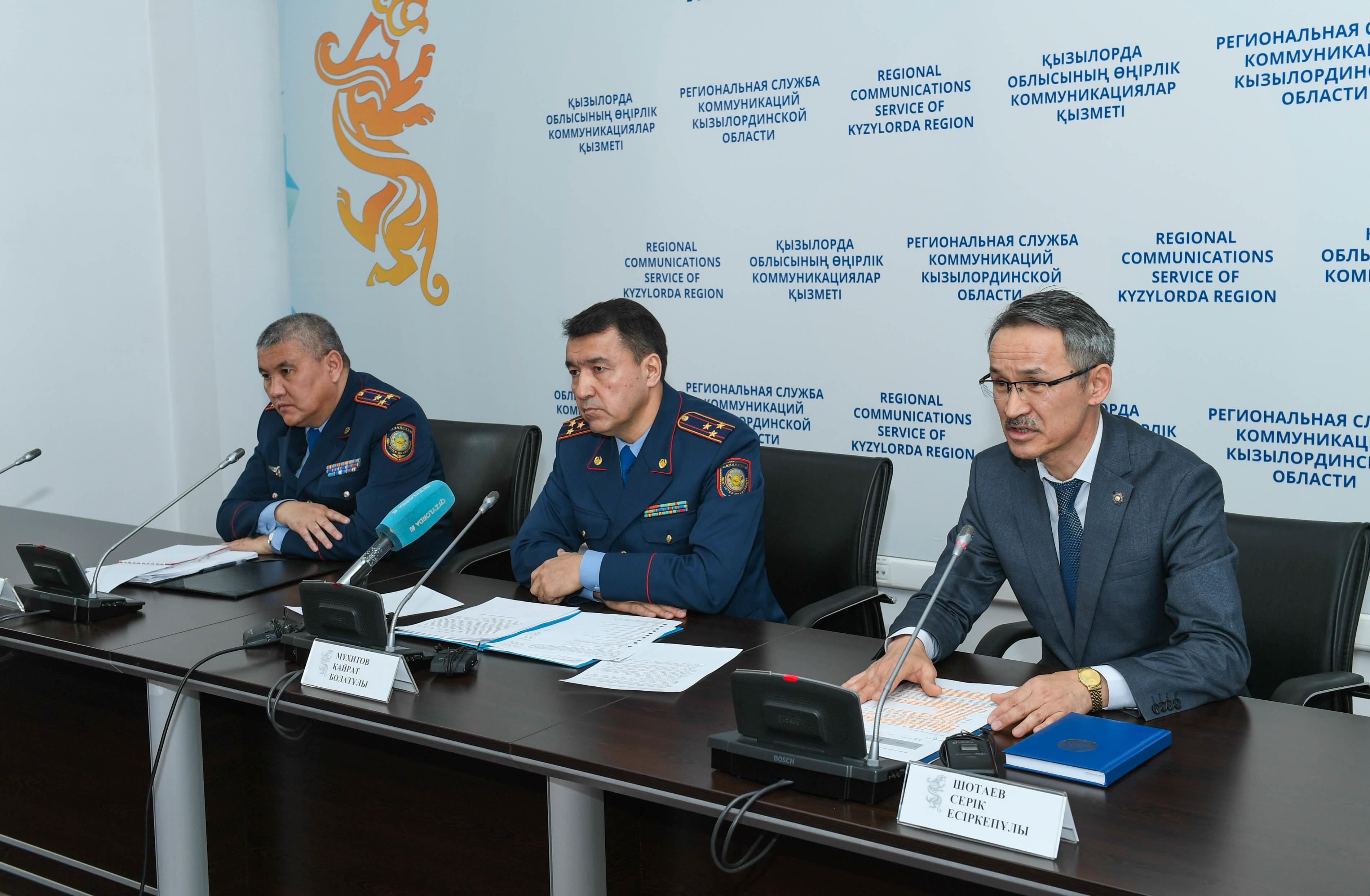 Факт избиения многодетной жительницы Кызылорды в акимате не подтвердился