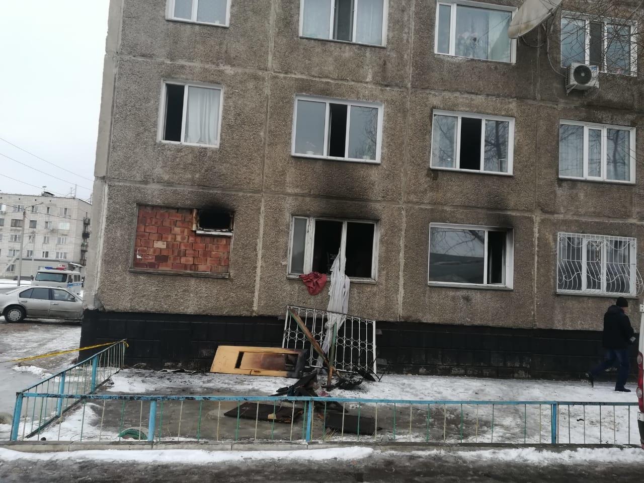Взрыв прогремел в многоэтажке Павлодара