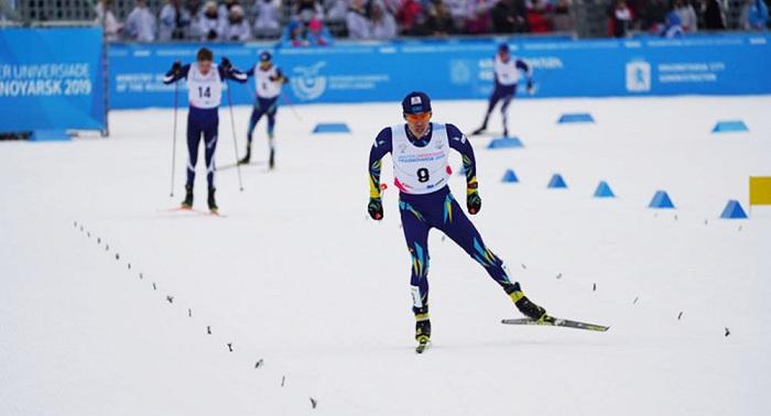 Лыжник Асет Дуйсенов завоевал серебро Универсиады