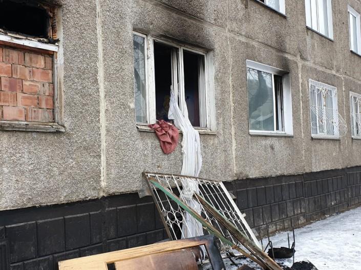 Стали известны подробности взрыва в павлодарской пятиэтажке