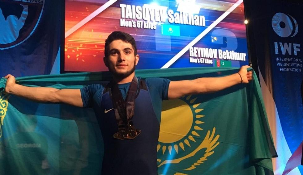 Казахстанец побил мировой рекорд на чемпионате по тяжелой атлетике в США