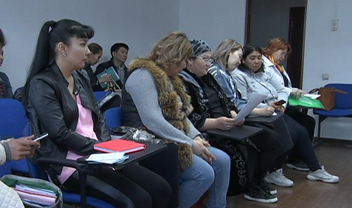 Безработных матерей обучают новым профессиям в Алматы