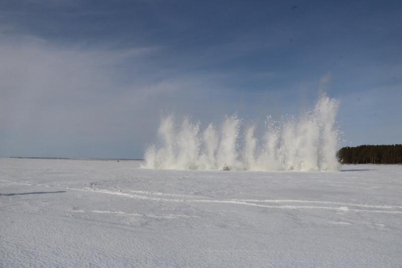 Работы по профилактике подтоплений начались на севере Казахстана