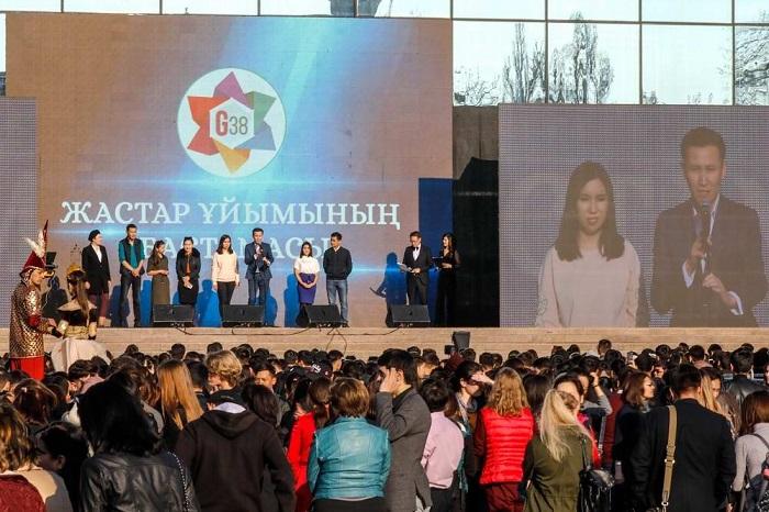 Алматинская молодежь высказалась в поддержку переименования столицы (ФОТО)