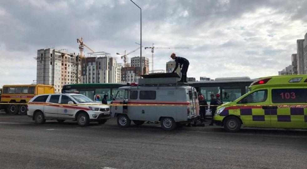 Нұр-Сұлтандағы жол апаты: зардап шеккен 25 адам ауруханаға жеткізілді