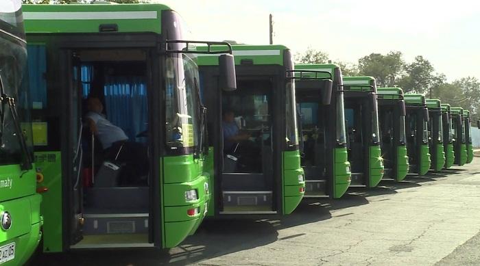 Общественный транспорт Алматы обновится на 100% к июлю
