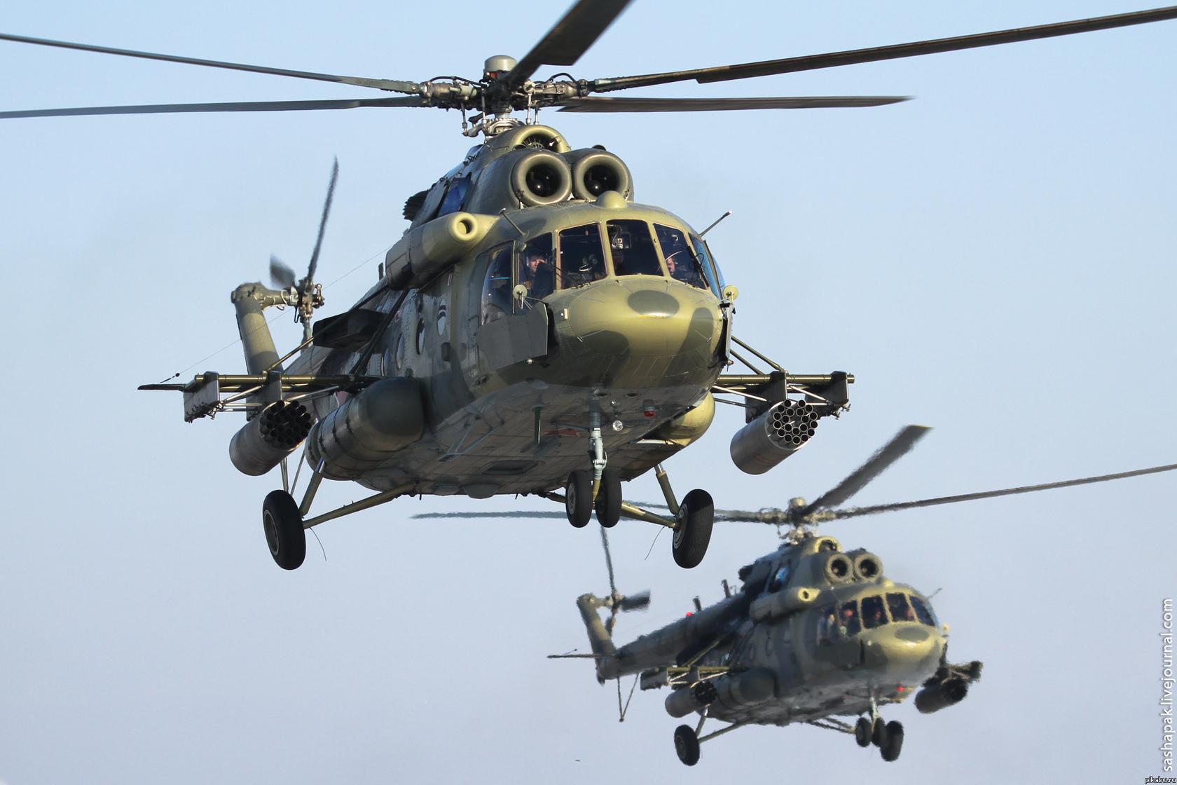 В Казахстане приостановили полеты вертолетов МИ-8