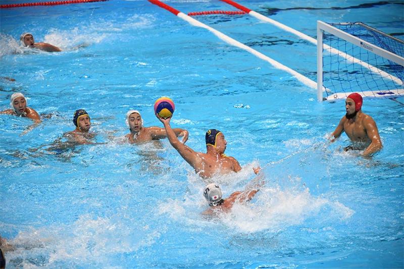 Сборная по водному поло РК вышла в полуфинал мировой Лиги