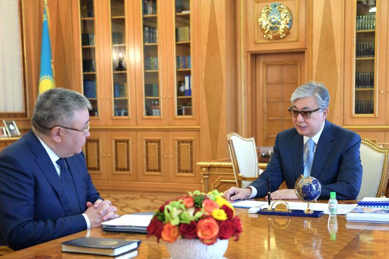 Президент принял председателя Высшего Судебного Совета