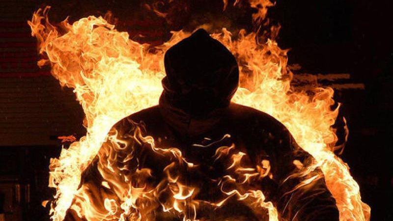 13 адам зардап шекті: Павлодар облысында ер адам өзін өртеп жіберді