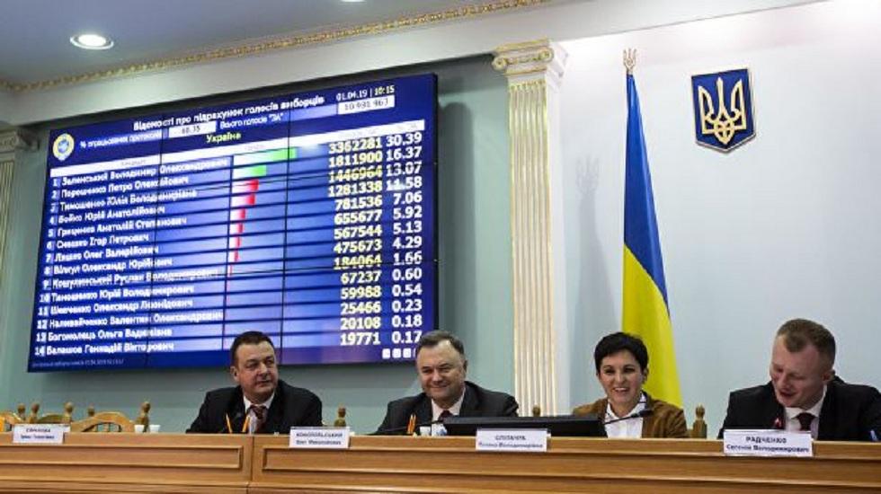 Подведены окончательные итоги президентских выборов на Украине