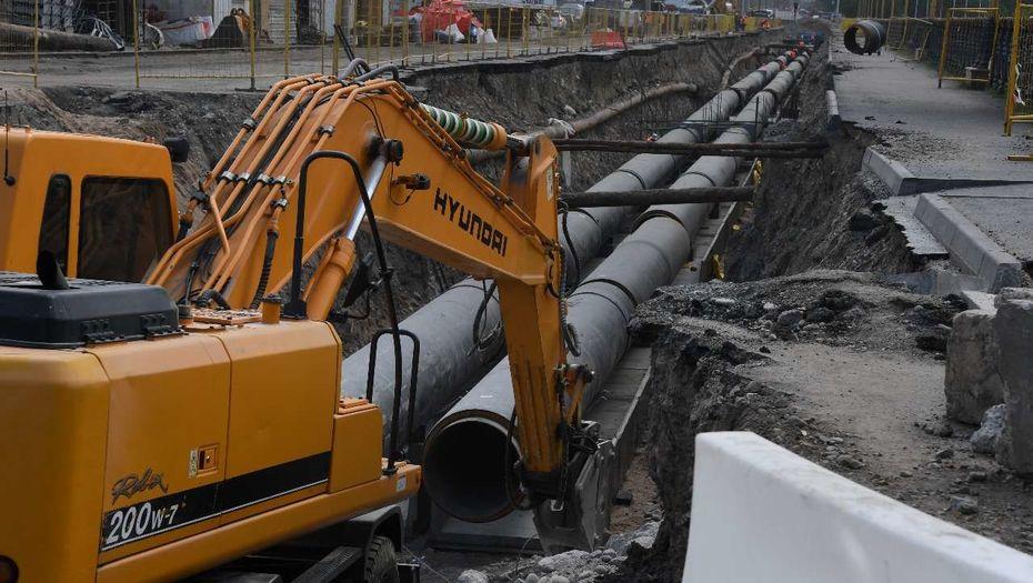 Более 600 км инженерных сетей модернизируют в этом году в Алматы