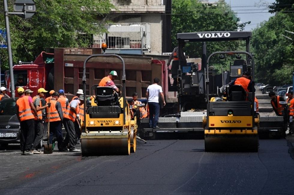 Ремонтировать дороги в Алматы будут круглосуточно