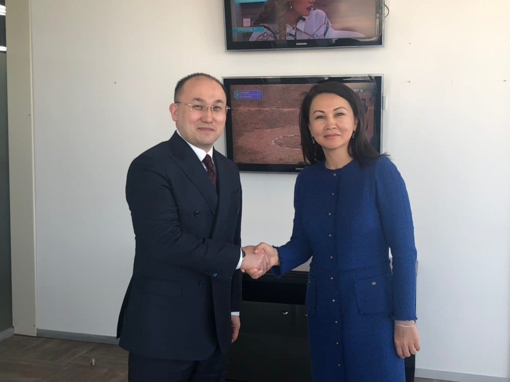 Ляззат Танысбай стала директором телеканала Qazaqstan