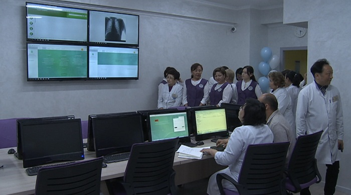 При поликлинике № 17 в Алматы открылся ситуационный центр