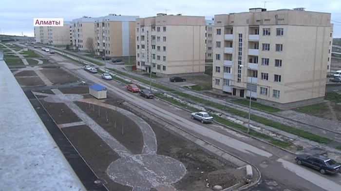 Проблема с подтоплением новых домов жителей микрорайона Саялы будет решена