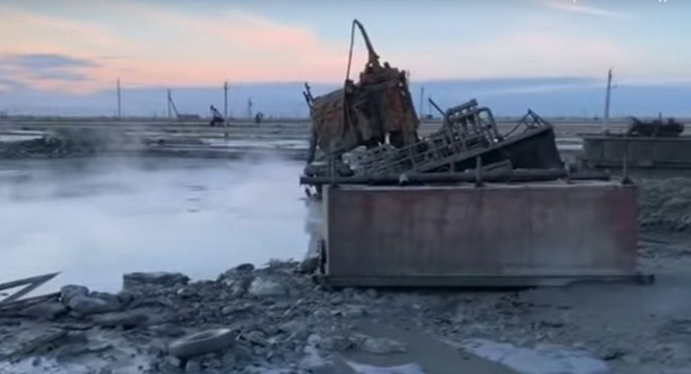 В Минэнерго назвали ущерб от аварии на месторождении Каламкас