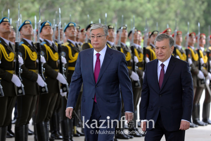 Встреча президентов Казахстана и Узбекистана проходит в Ташкенте