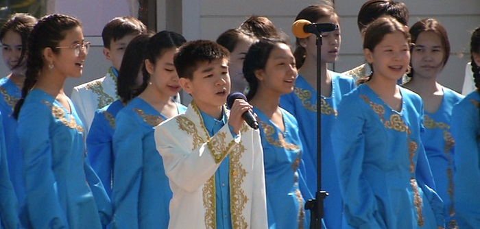 В НИШ Алматы продолжают отмечать Наурыз