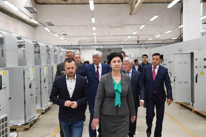 В Алматинскую область прибыла правительственная делегация во главе с Гульшарой Абдыкаликовой