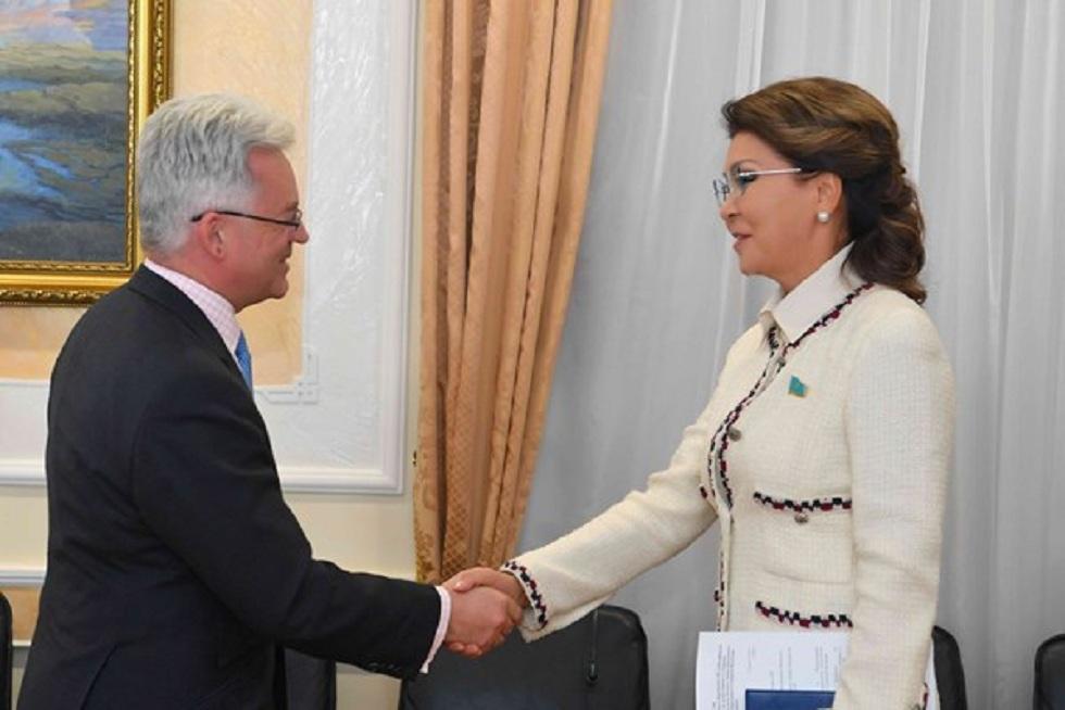 Встречу с британским министром по делам Европы и Америки провела Дарига Назарбаева