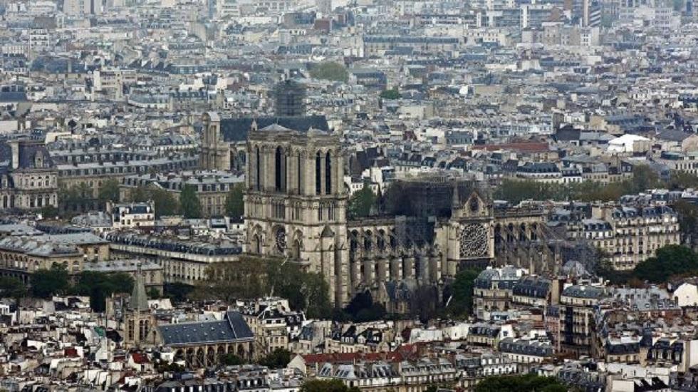 Международный конкурс для воссоздания шпиля Нотр-Дама объявили во Франции
