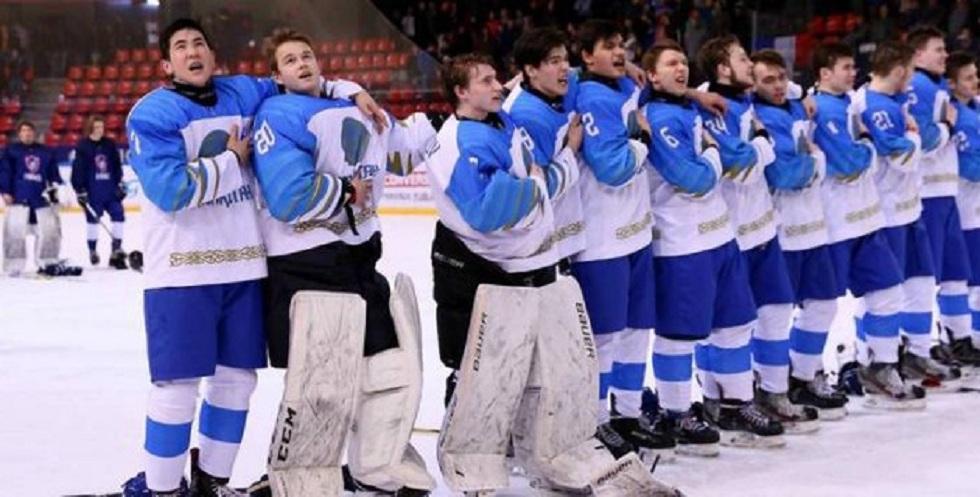 Сборная Казахстана разгромила Украину на юниорском ЧМ по хоккею