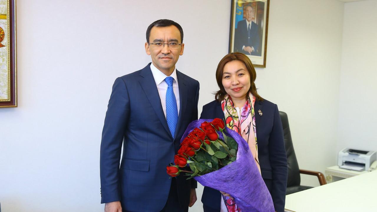 """Генеральным директором телеканала """"Astana TV"""" назначена Бибигуль Жексенбай"""