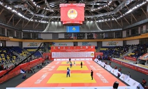 Кубок Азии по дзюдо в Алматы: 1-е место у сборной Казахстана