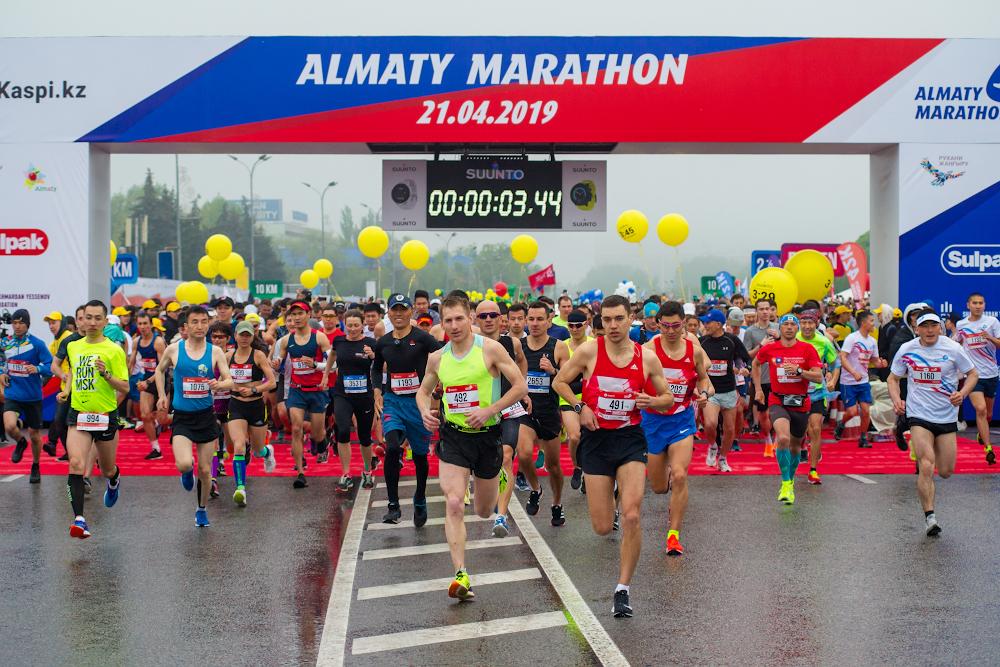 Самый массовый забег в Центральной Азии прошёл в Алматы