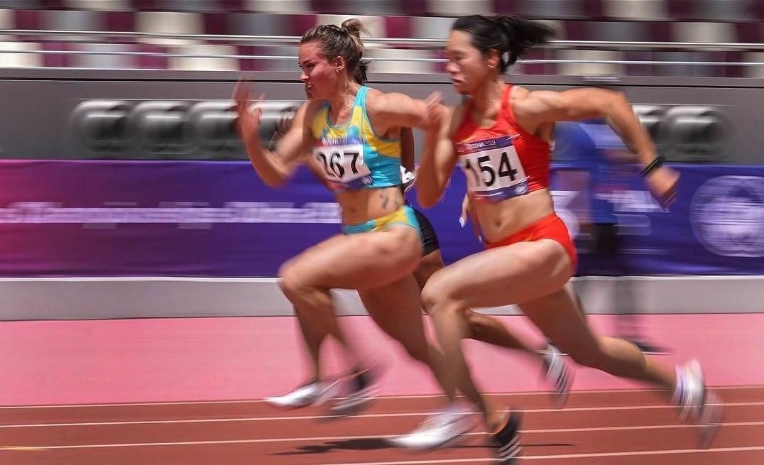 Чемпионкой Азии по легкой атлетике стала спортсменка из Казахстана