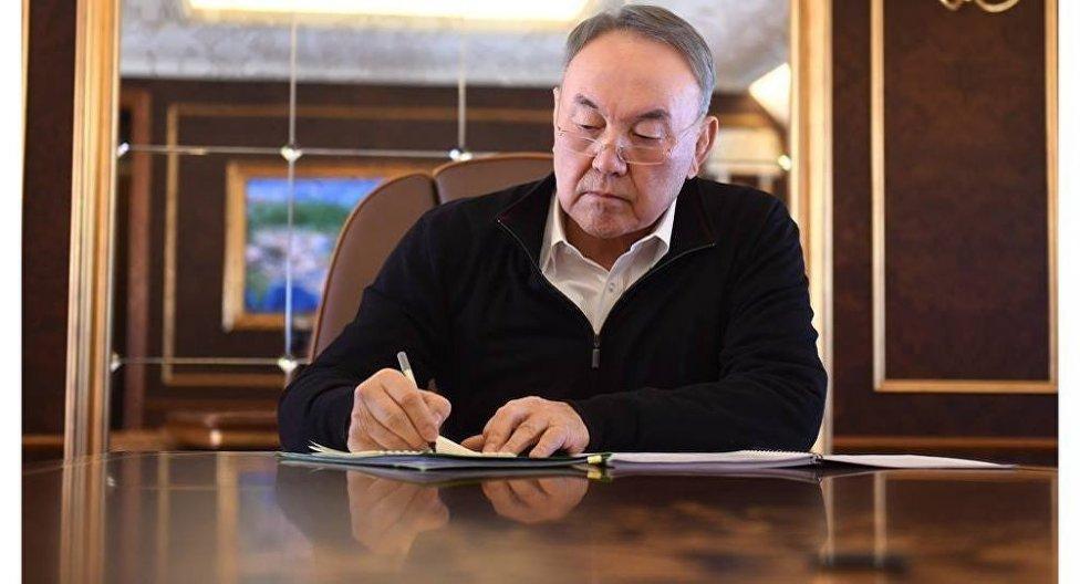 """""""Я готовился несколько лет"""" - Назарбаев о сложении полномочий"""
