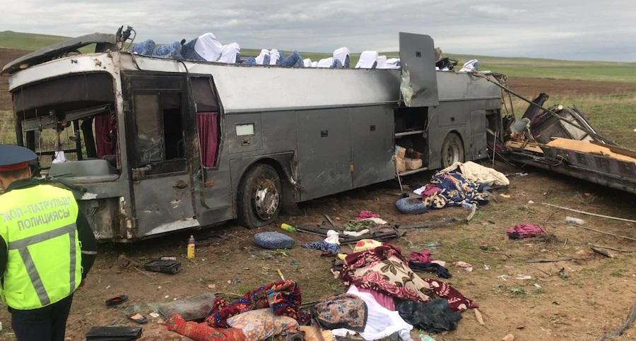 ДТП на Кордае: арестован водитель автобуса, в котором погибли 10 человек