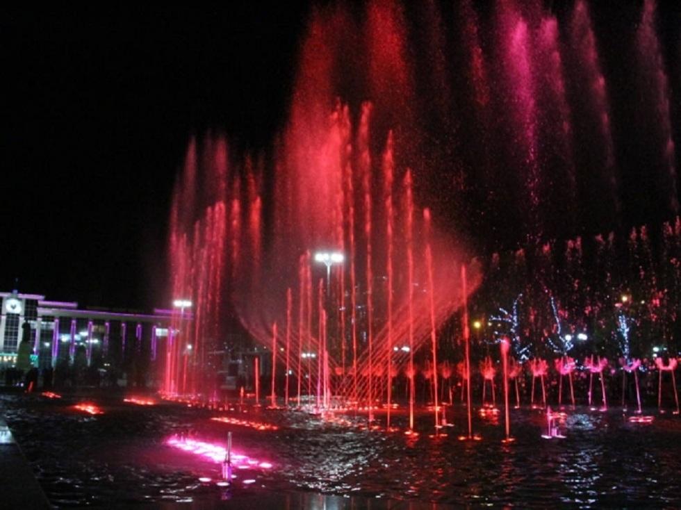 Поющий фонтан запустят в Усть-Каменогорске 1 мая