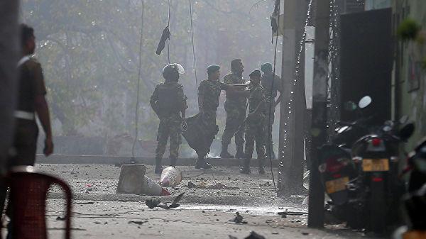 Еще один взрыв прогремел на Шри-Ланке