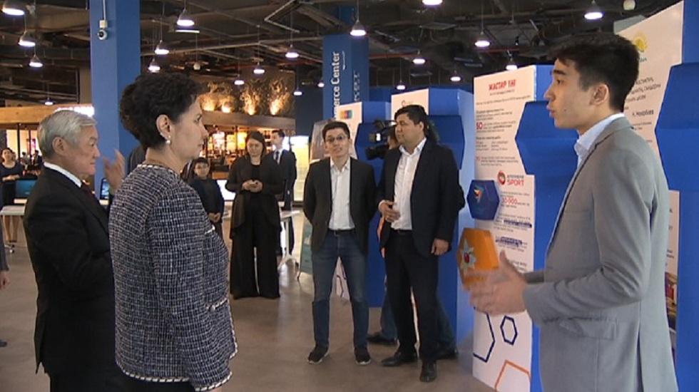 Гульшара Абдыкаликова встретилась с молодежью Алматы