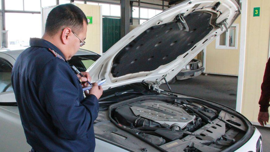Осмотр автомобиля при первичной регистрации отменят в Казахстане