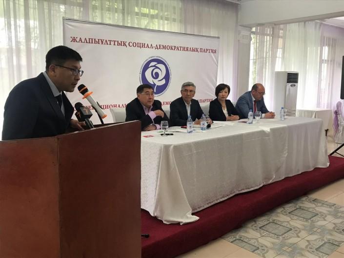 ОСДП не будет принимать участие в выборах президента